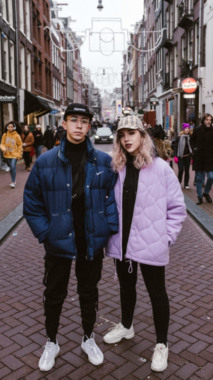 street style fashion shooting amsterdam