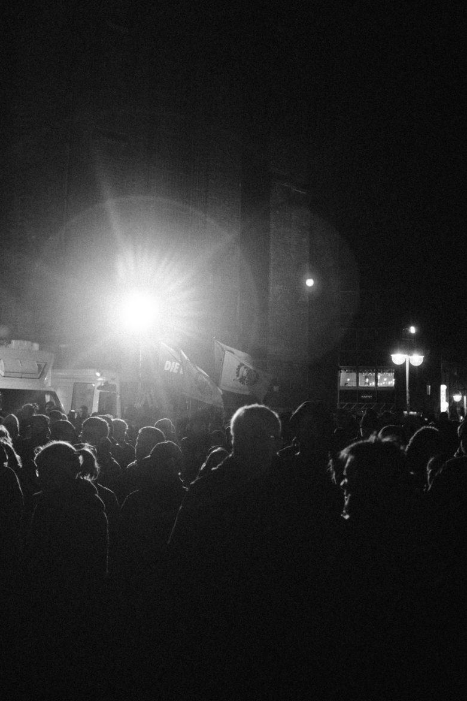 Kundgebung in Hannover